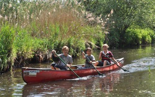 schoolreis kano en survival