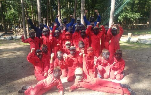 paintball en survival schoolreisje