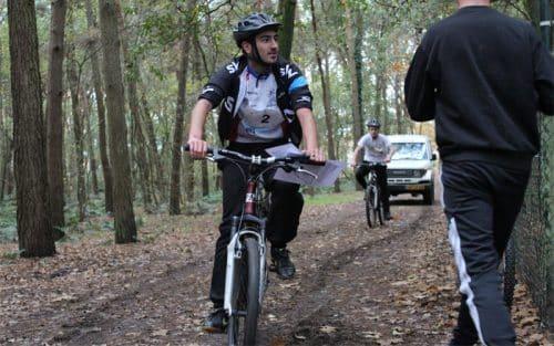 Mountainbiken als schooluitje