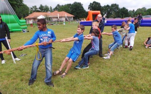 zeskamp voor kinderen
